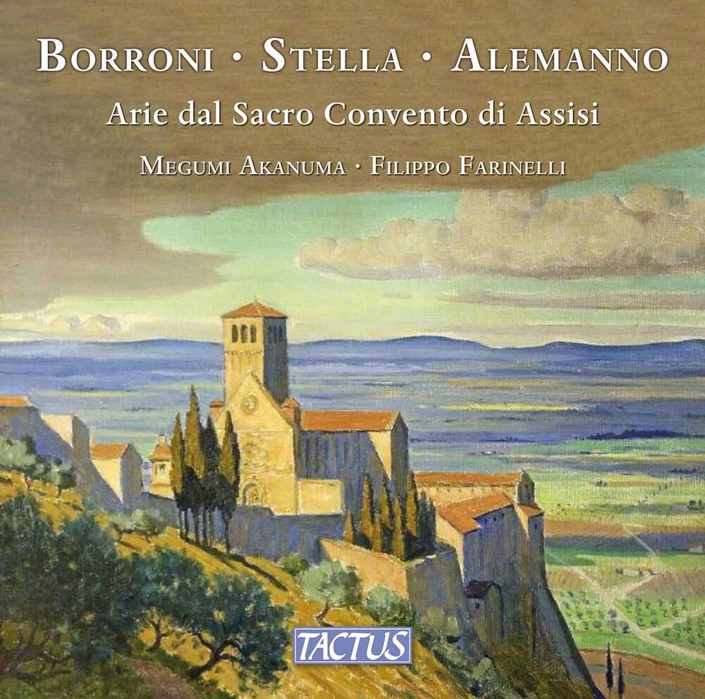 Alemanno / Akanuma / Farinelli - Arie Dal Sacro Convento