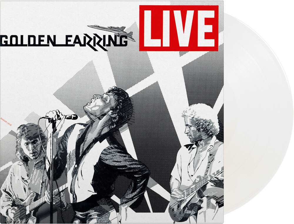 Golden Earring - Live [Limited Gatefold, 180-Gram White Colored Vinyl]