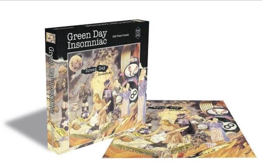 - Green Day Insomniac (500 Piece Jigsaw Puzzle)