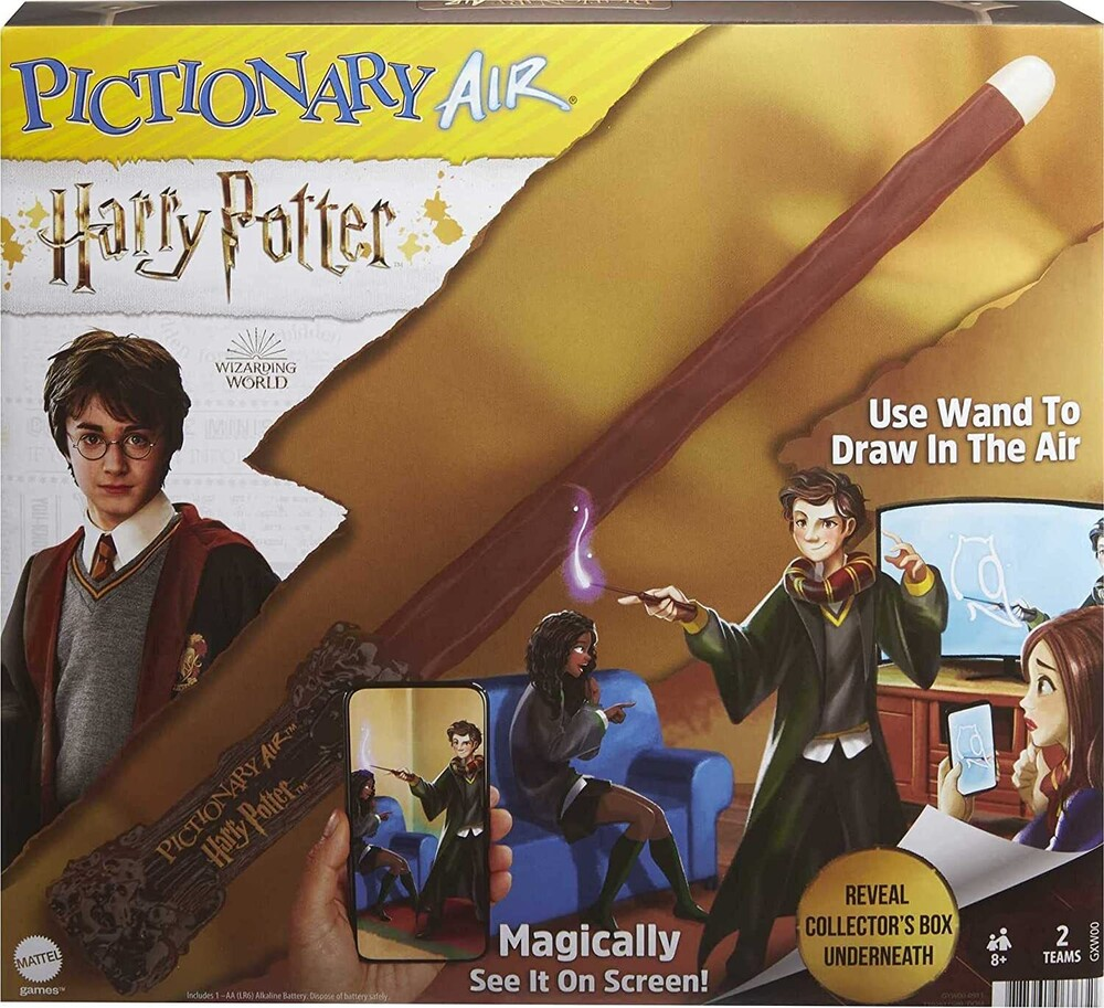 - Mattel Games - Pictionary Air Harry Potter