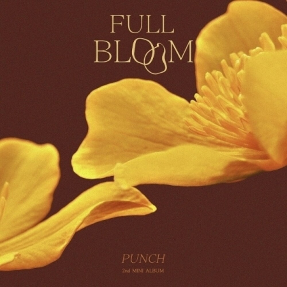 Punch - Full Bloom (W/Book) (Pcrd) (Asia)