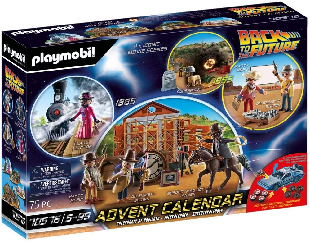 - Advent Calendar Back To The Future Part Iii (Cal)
