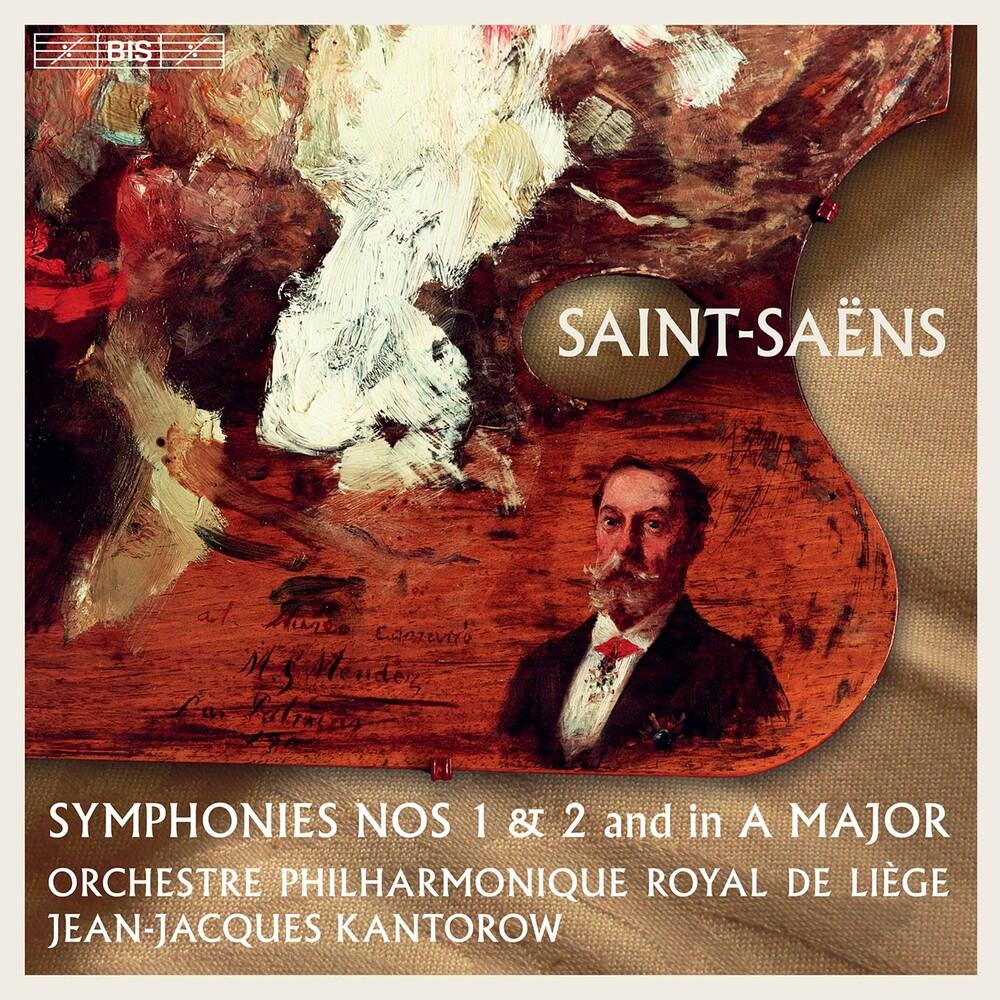 Saint-Saens / Kantorow - Symphonies 1 & 2 (Hybr)