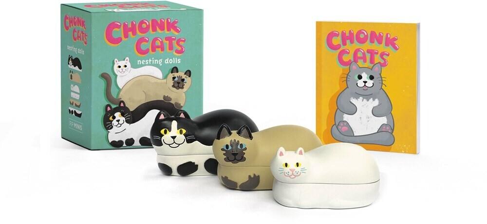 Jessie Moore  Oleson - Chonk Cats Nesting Dolls (Box) (Ppbk)