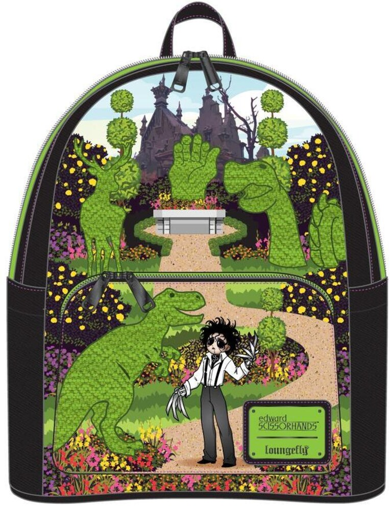 Loungefly Edward Scissorhands: - Topiary Mini Backpack (Back)