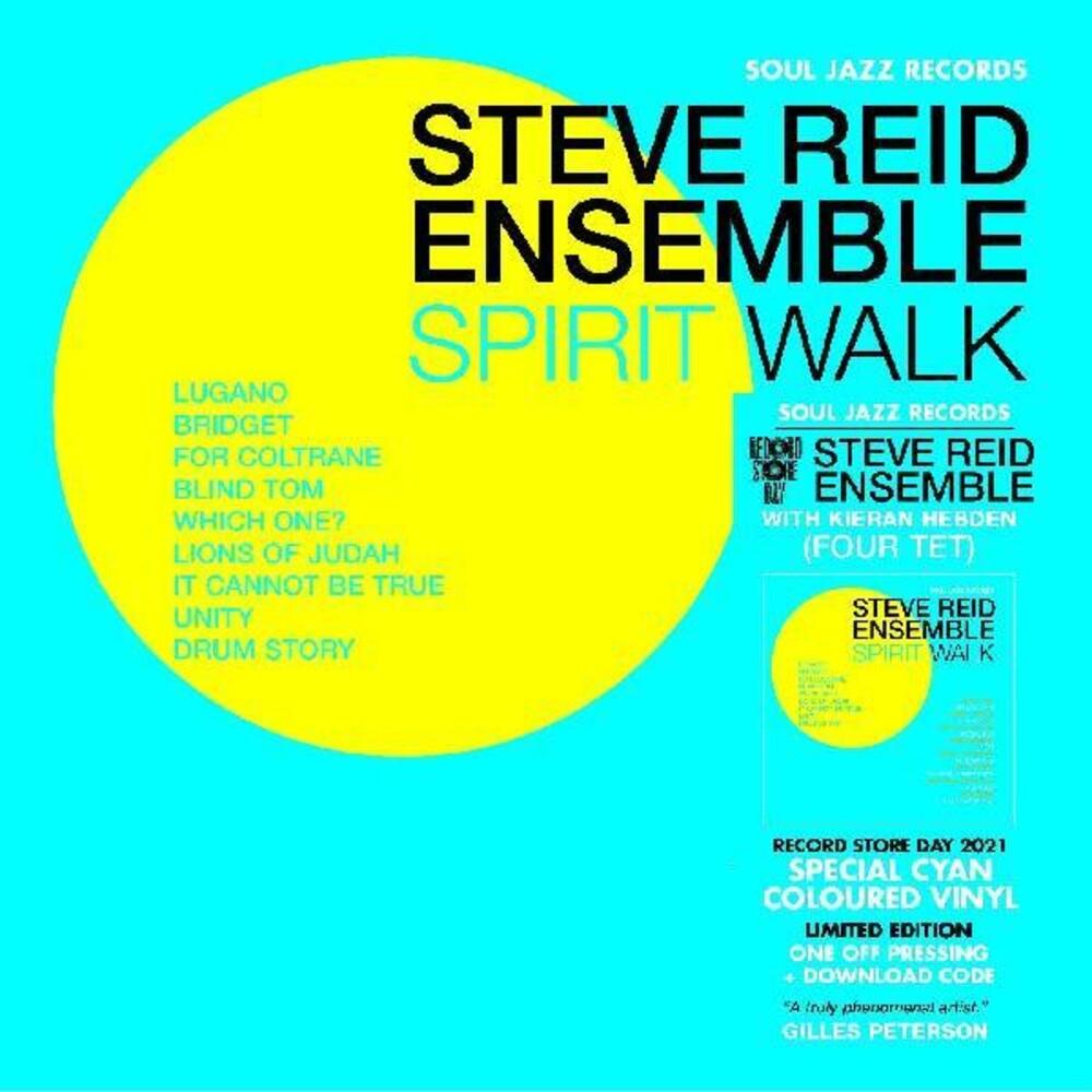 Steve Reid Ensemble - Spirit Walk (Blue) [Colored Vinyl] [Download Included]