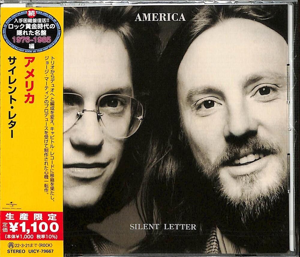 America - Silent Letter (Japanese Reissue)