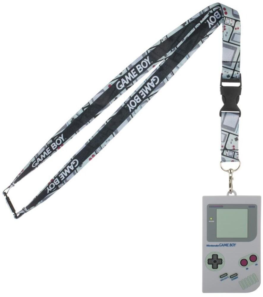 Nintendo Gameboy Id Holder Lanyard - Nintendo Gameboy Id Holder Lanyard (Mult) (Lan)
