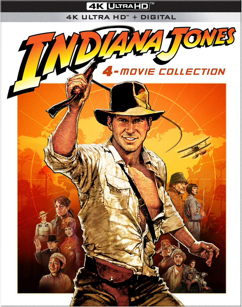 Indiana Jones 4-Movie Collection - Indiana Jones: 4-Movie Collection