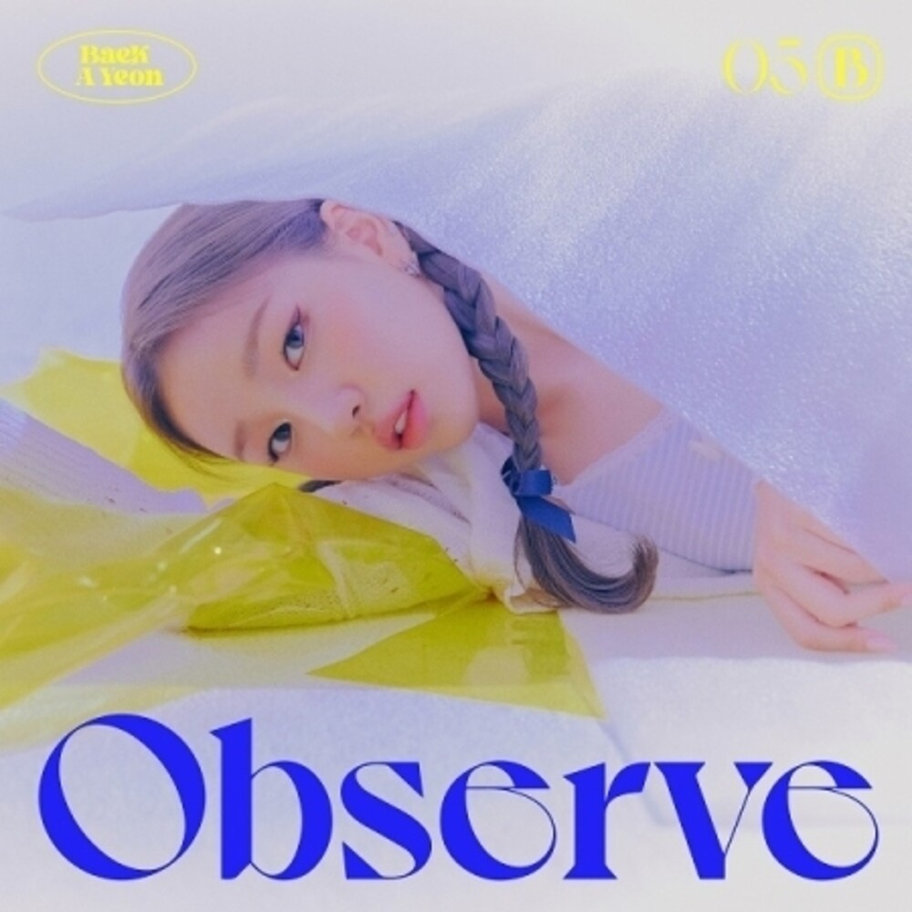 Baek Ayeon - Observe (incl. 68pg Photobook, Folded Poster, Polaroid Photocard + Sticker)