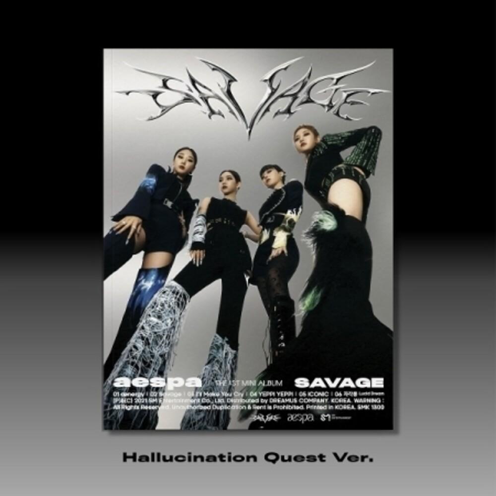 Aespa - Savage (Photobook Version) (Phob) (Asia)