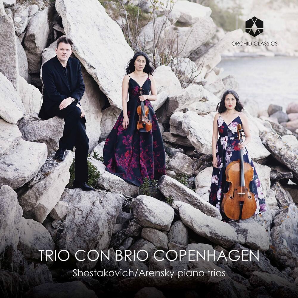 Arensky / Trio Con Brio Copenhagen - Piano Trios