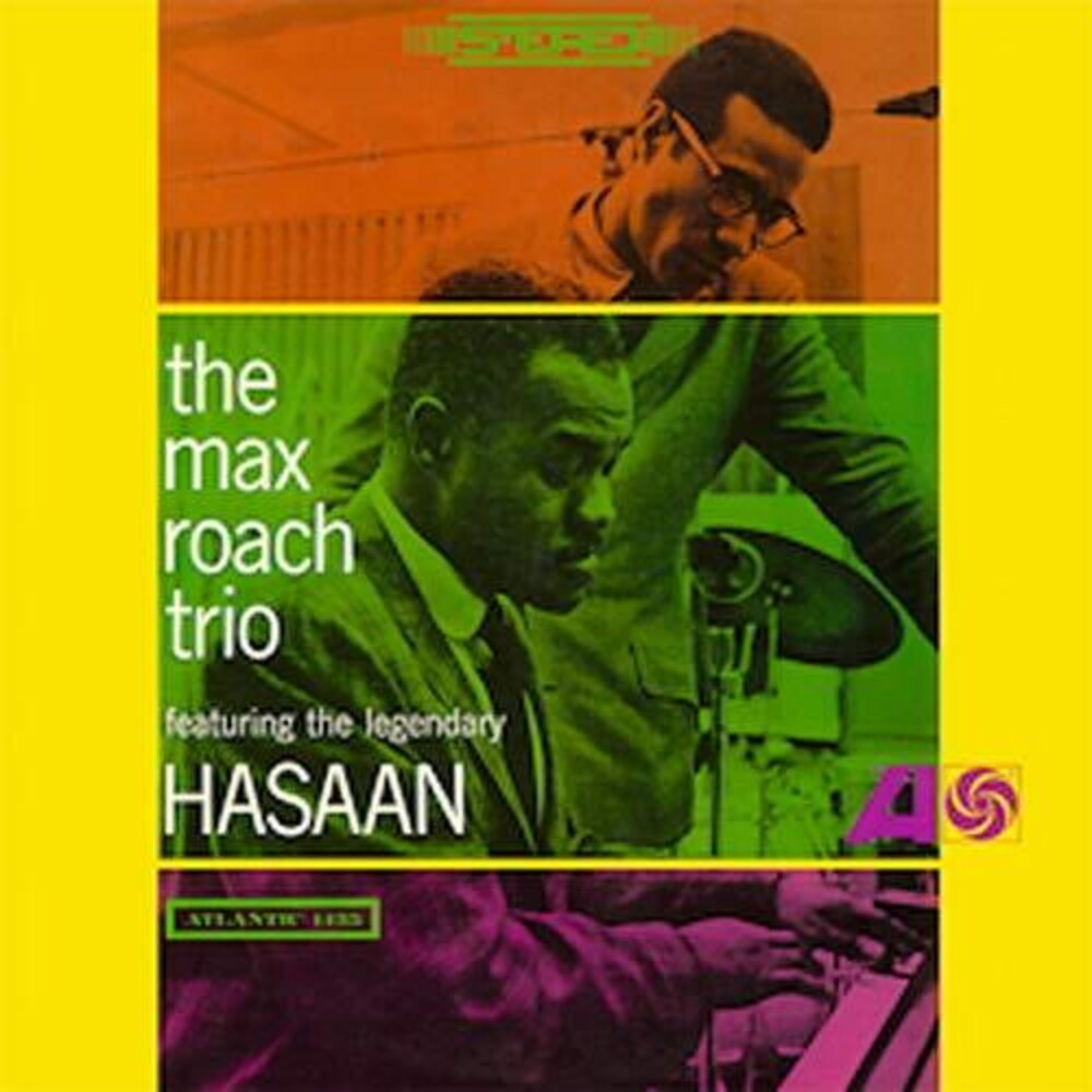 Max Roach Trio - Max Roach Trio Featuring The Legendary Hasaan