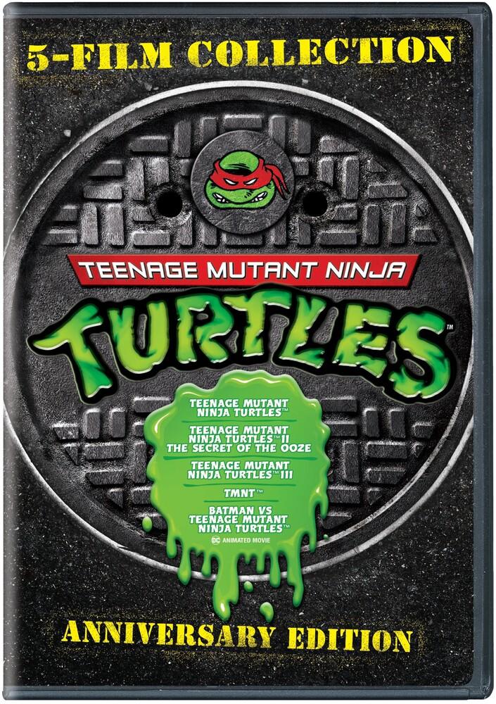 5Ff: Tmnt (Teenage Mutant Ninja Turtles) - 5-Film Collection: Teenage Mutant Ninja Turtles (Anniversary Edition)