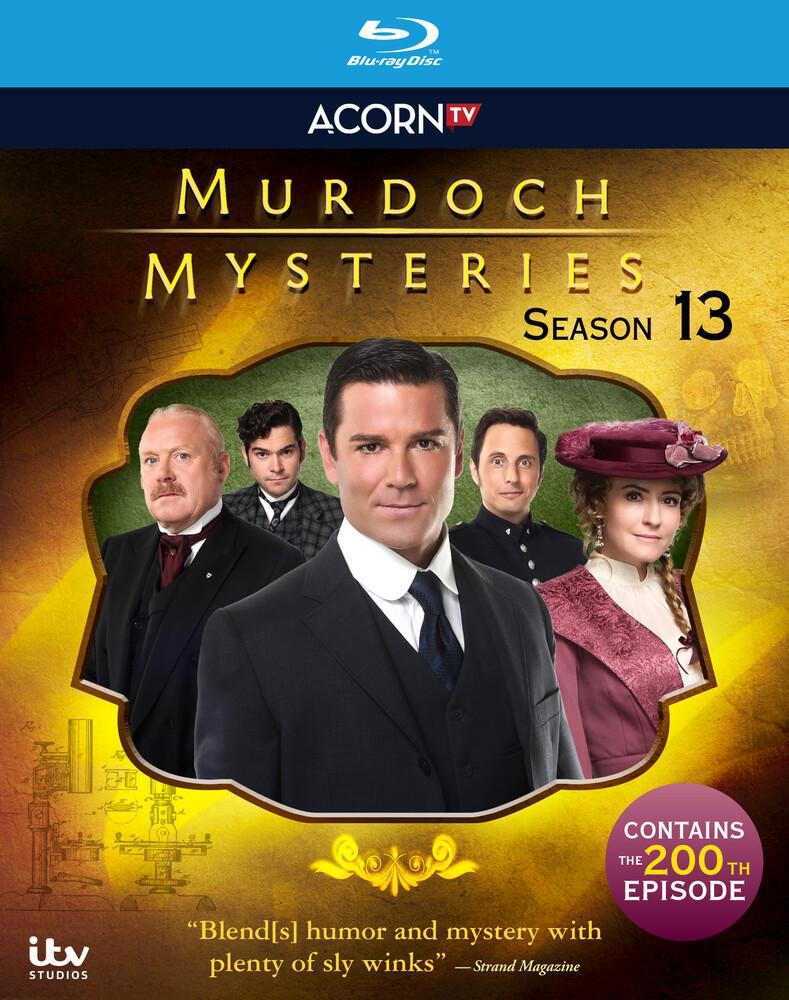 Murdoch Mysteries: Series 13 - Murdoch Mysteries: Series 13 (4pc)