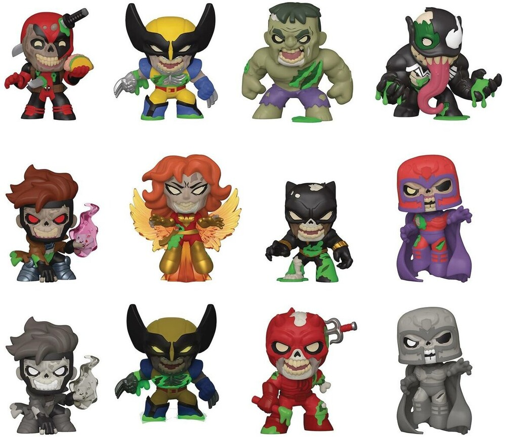 Funko Pop! Marvel Specialty Series: - FUNKO POP! MARVEL SPECIALTY SERIES: Mystery Mini - Marvel Zombies (1 Random)