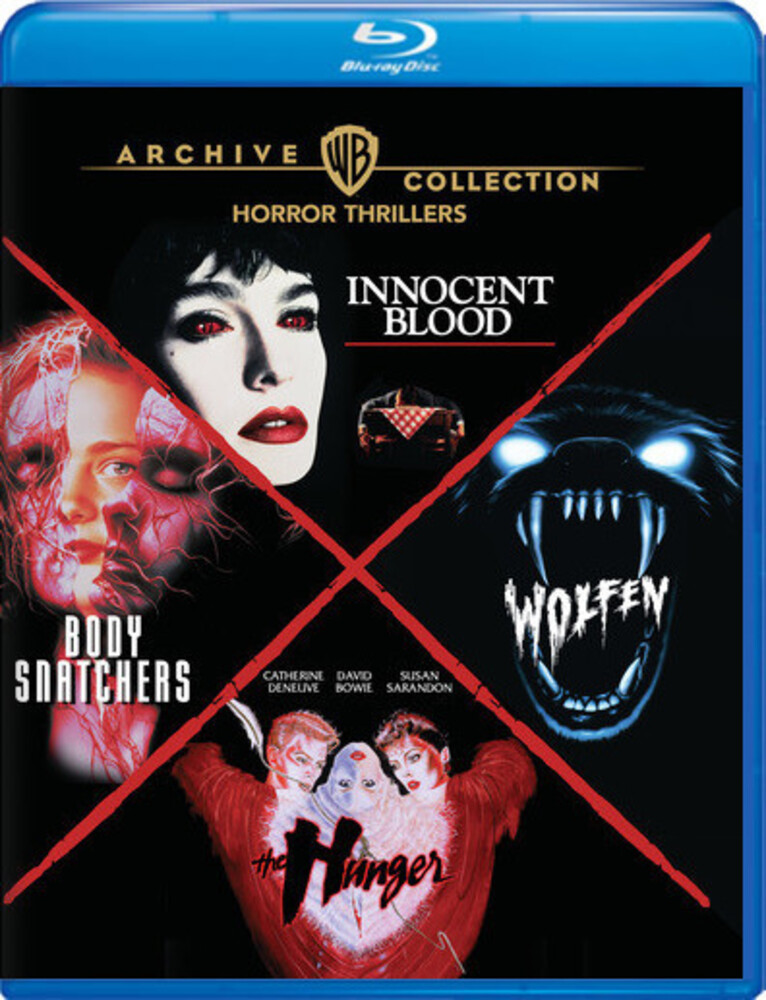- Horror Thrillers 4-Film Collection (4pc) / (Box)