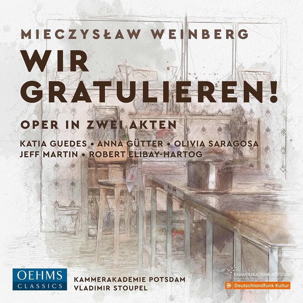Weinberg / Guedes / Stoupel - Wir Gratulieren (2pk)