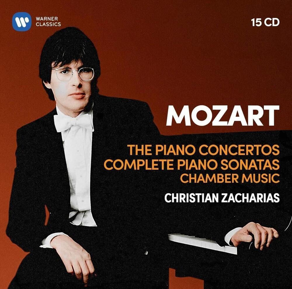 Christian Zacharias - Mozart: Pno Cons 5-27 / 19 Pno Sons / Pno Qrts 1-2