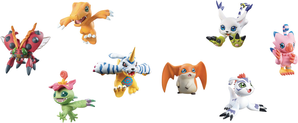 Megahouse - MegaHouse - Digimon Digicolle Mix 8pc BMB DS