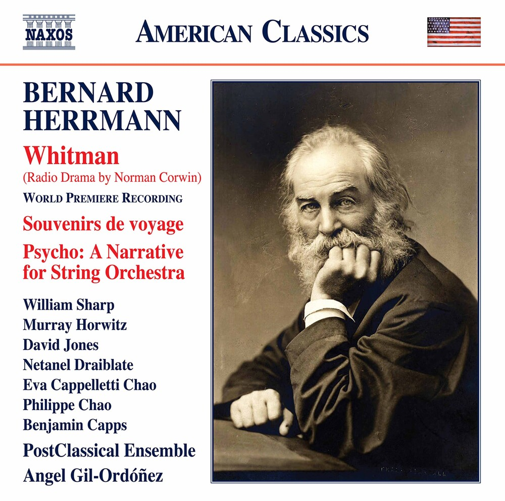 Herrmann / Postclassical Ensemble / Gil-Ordonez - Whitman