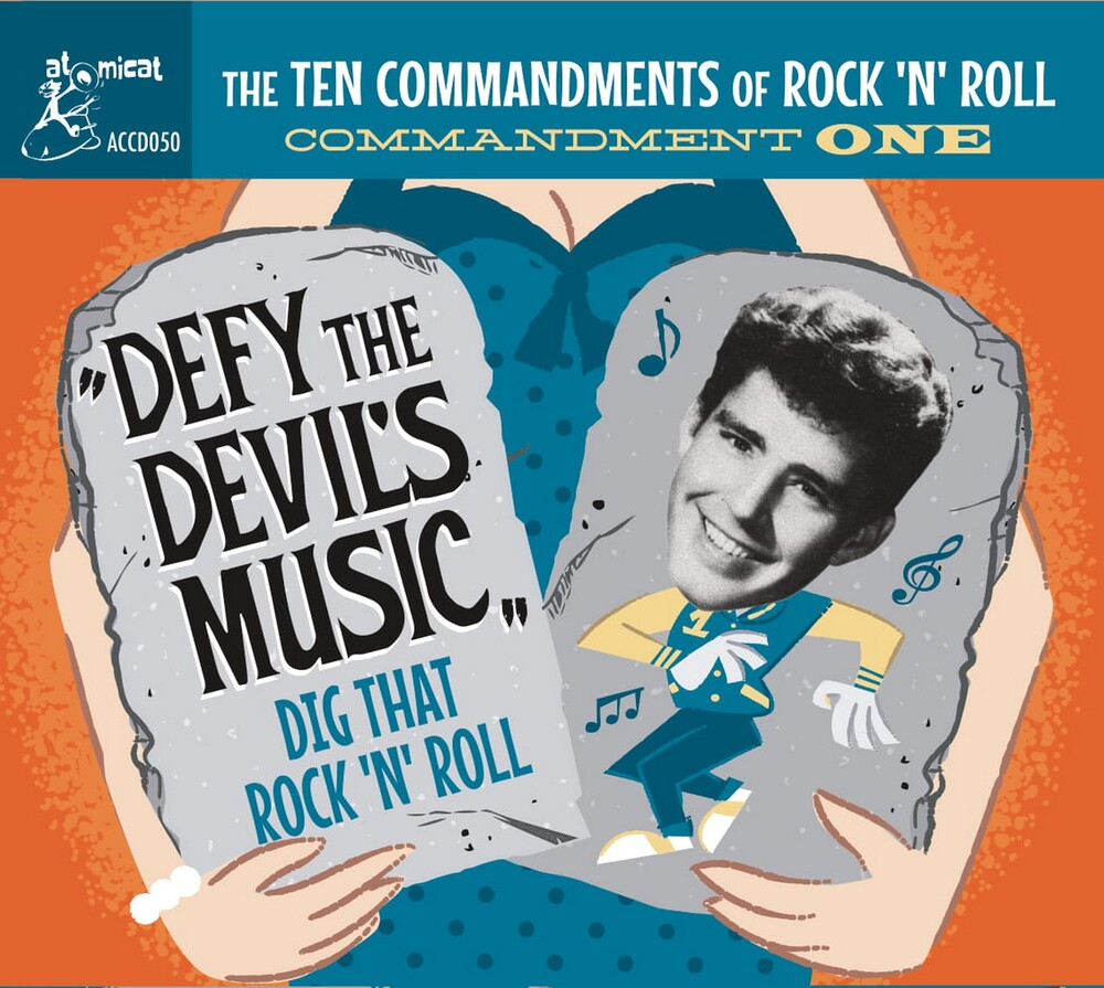 Ten Commandments Of Rock n Roll 1 / Various - Ten Commandments Of Rock 'n' Roll 1 / Various