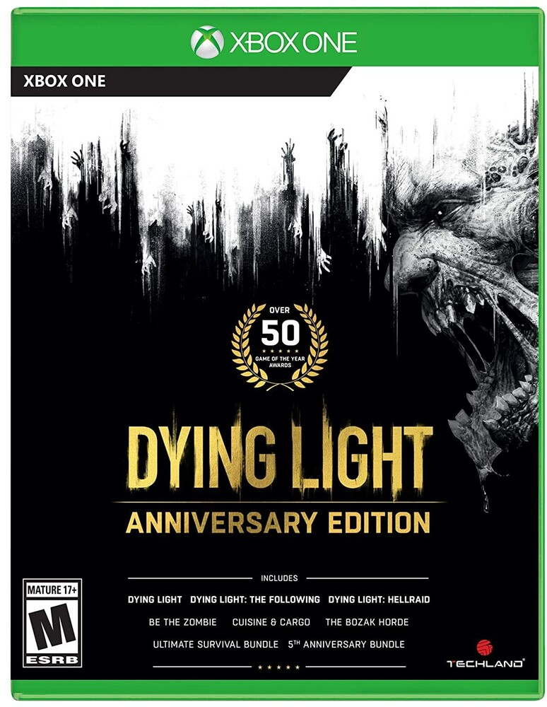 Xb1 Dying Light - Anniversary Edition - Dying Light Anniversary Edition for Xbox One