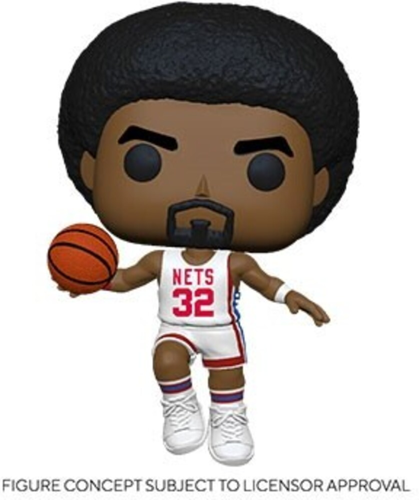 Funko Pop! NBA: - FUNKO POP! NBA: Legends- Julius Erving (Nets Home)