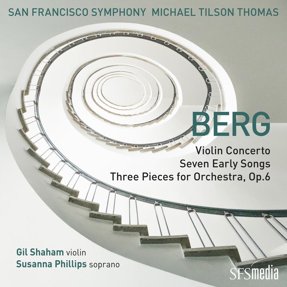 Berg / Michael Thomas  Tilson / San Francisco Sym - Berg: Violin Cto / Seven Early Songs & 3 Pieces