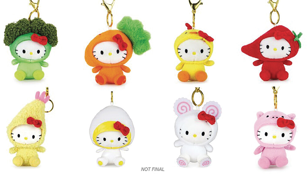 - NECA - Cup Noodles X Hello Kitty Plush Charms Cdu 24Pc Bmb DS