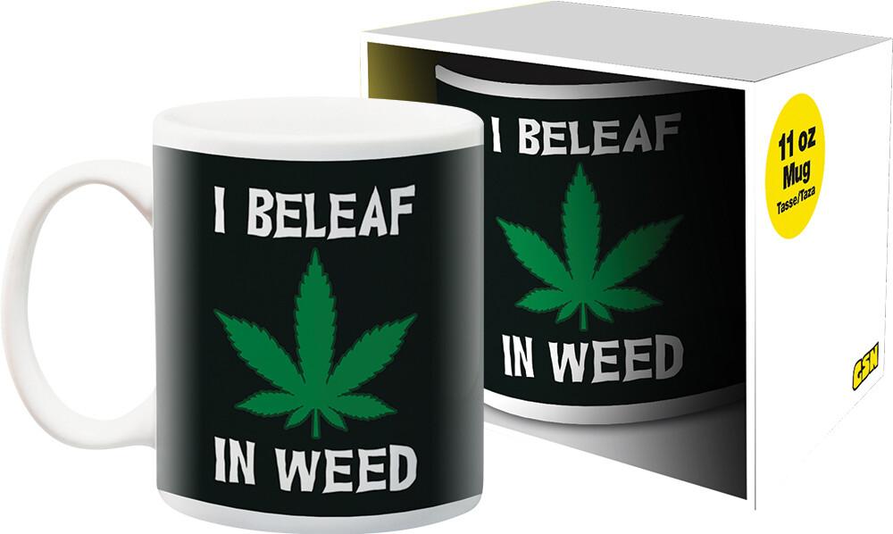 Weed I Beleaf 11Oz Boxed Mug - Weed I Beleaf 11oz Boxed Mug