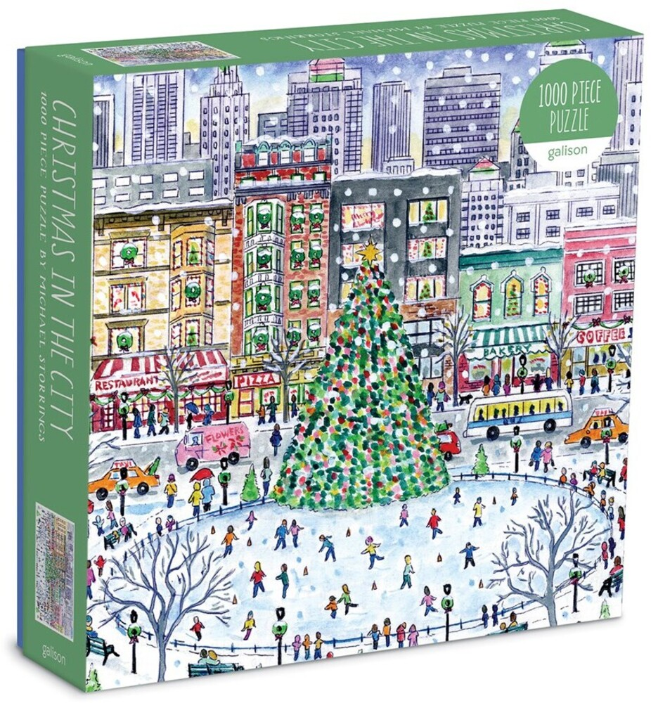 - Michael Storrings Christmas in the City 1000 Piece Puzzle