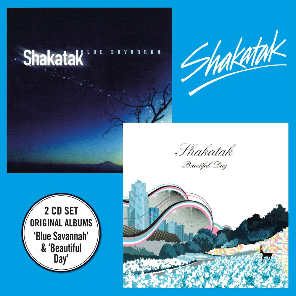 Shakatak - Blue Savannah + Beautiful Day [Digipak]