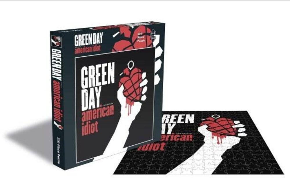 - Green Day American Idiot (500 Piece Jigsaw Puzzle)