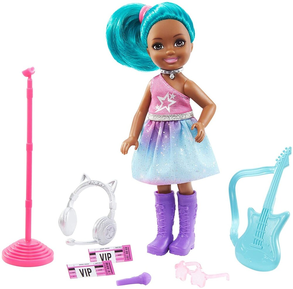 - Mattel - Barbie Chelsea Can Be Pop Star Doll and Playset
