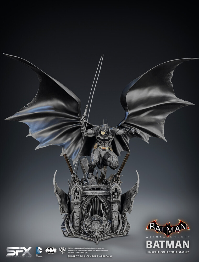 - Batman Arkham Knight 1/8 Scale Statue (Clcb)