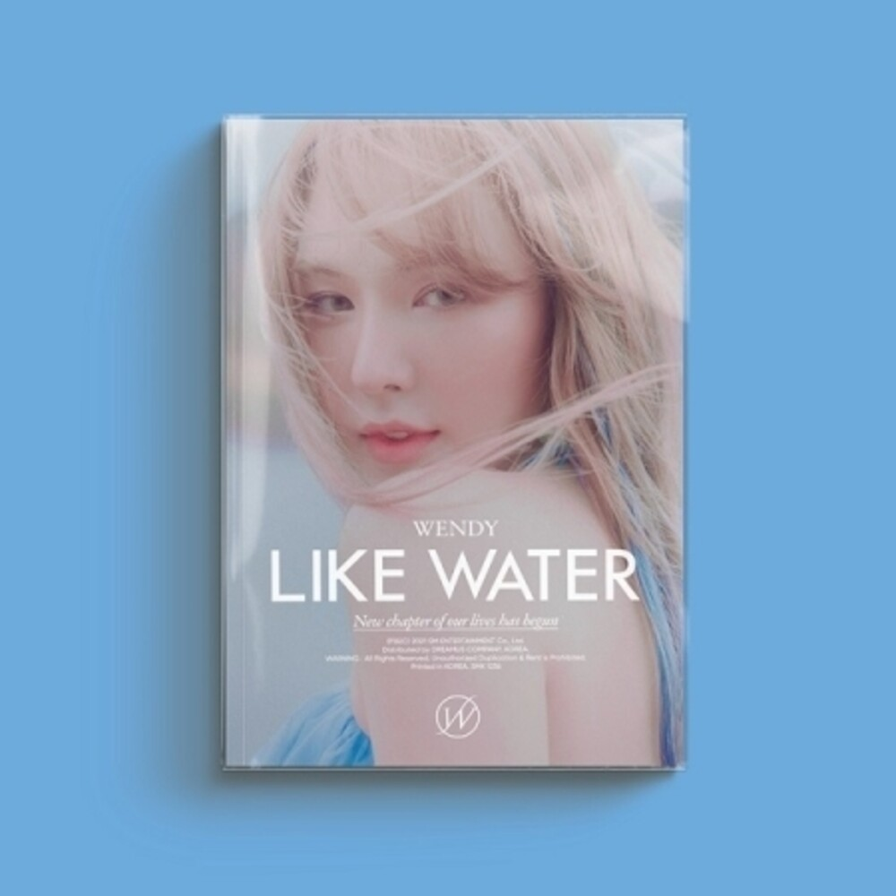 Wendy - Like Water (Photo Book Version) (Post) [With Booklet] (Pcrd)
