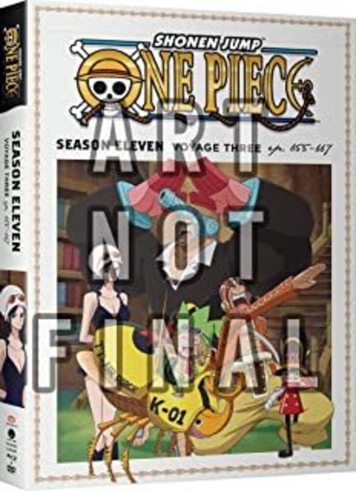 - One Piece: Season Eleven Voyage Three (4pc)