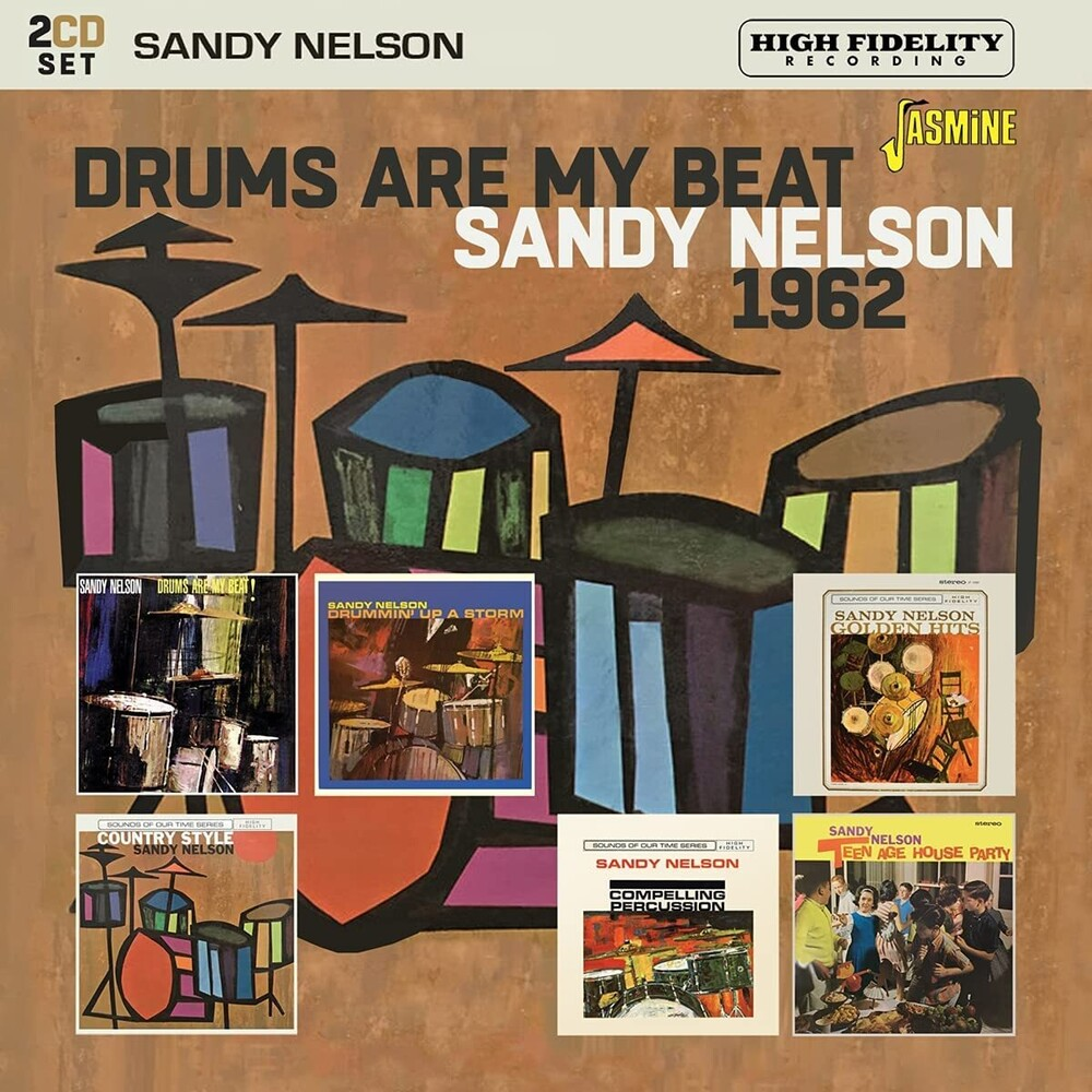 Sandy Nelson - Drums Are My Beat 1962 (Uk)