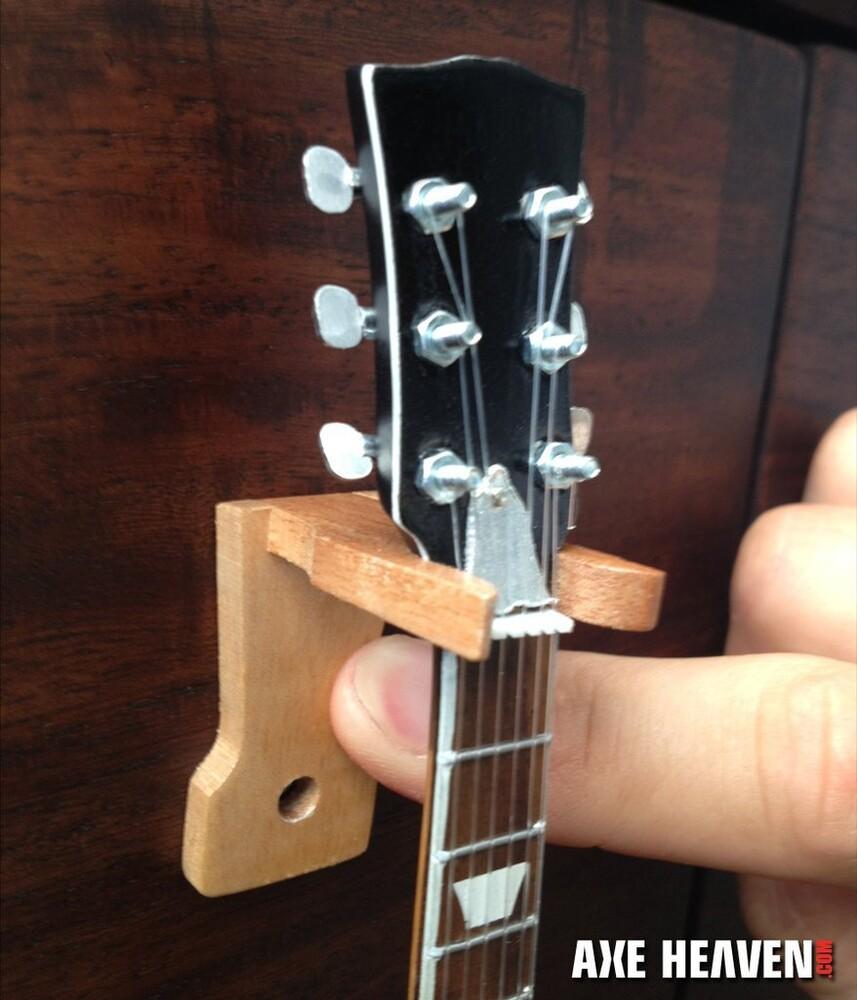 Axe Heaven Wood Mini Guitar Wall Mount Hangers - Axe Heaven Wood Mini Guitar Wall Mount Hangers