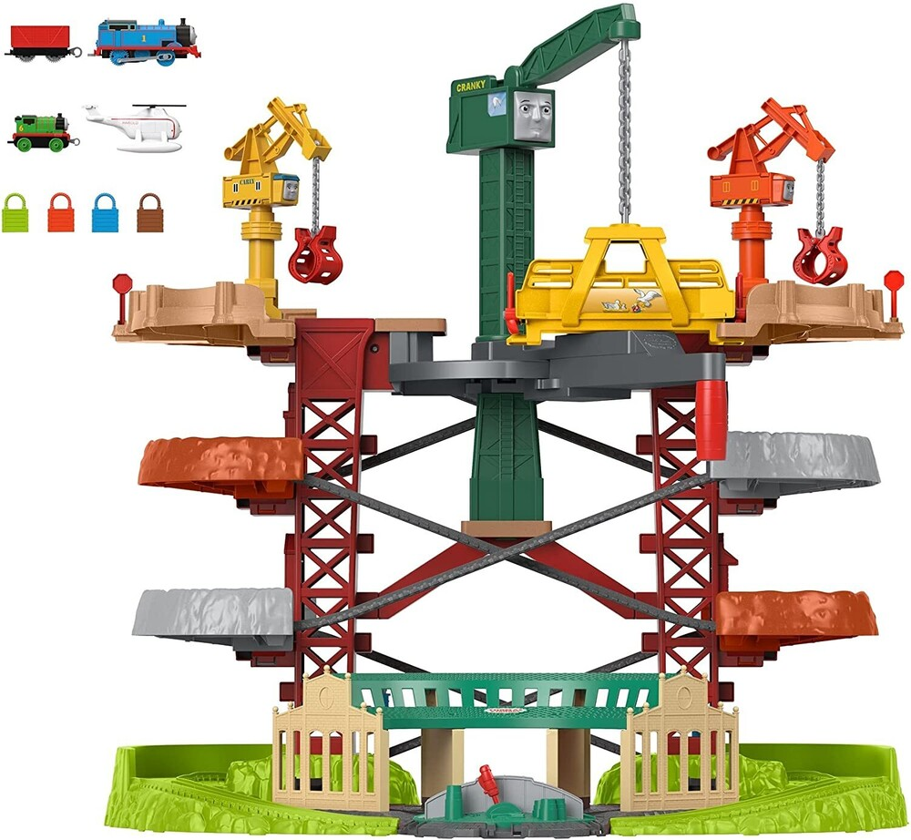 Thomas and Friends - Thomas Trains & Cranes Super Tower (Trn)
