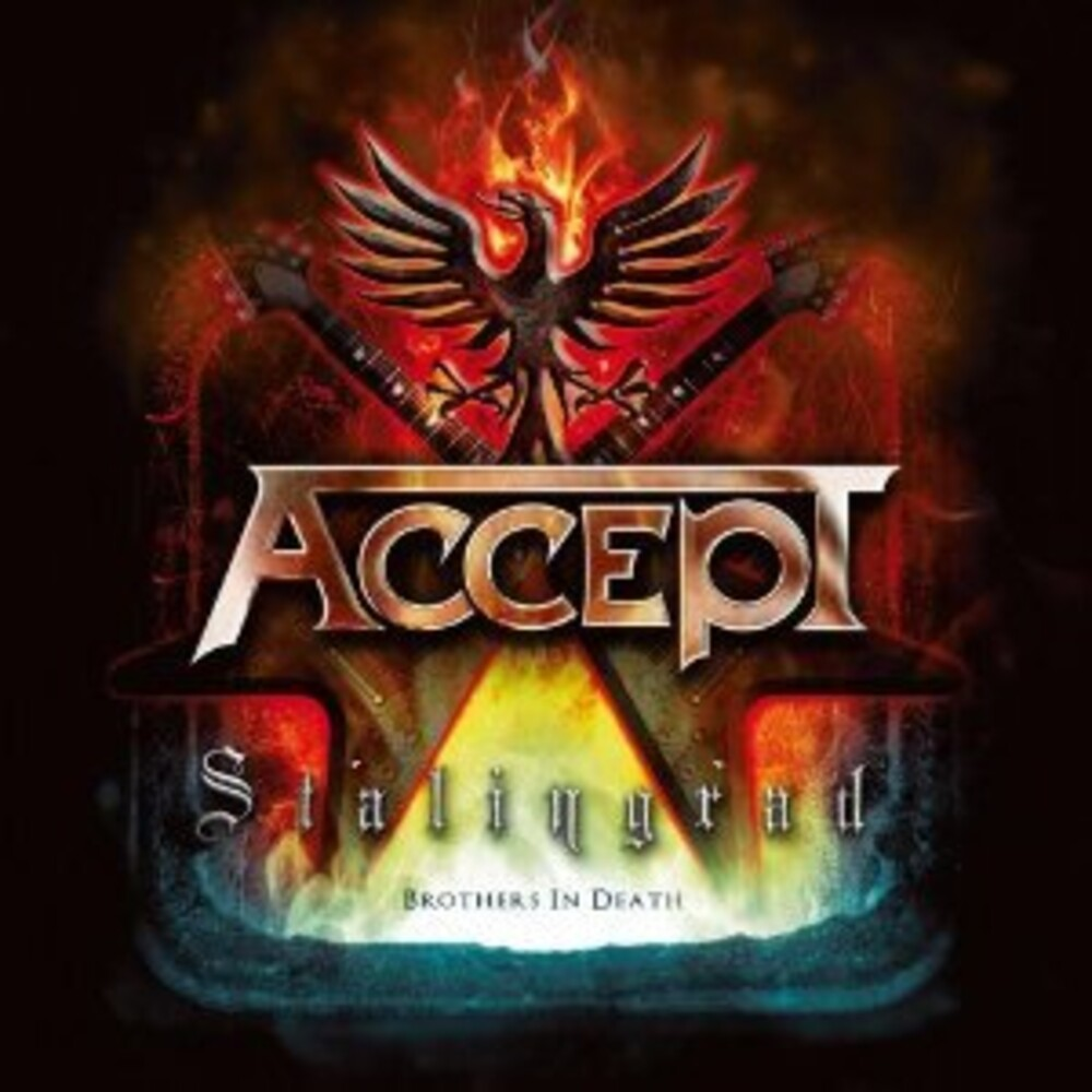 Accept - Stalingrad (Blk) [Colored Vinyl] (Red) (Wht) (Uk)