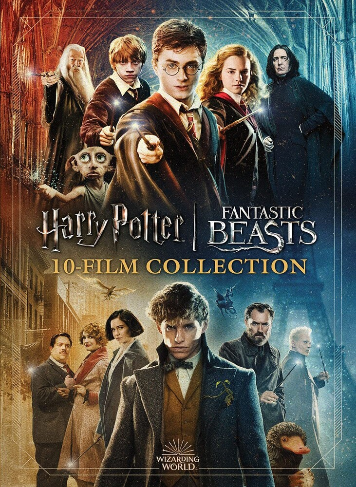 Wizarding World 10-Film Collection: 20th Anniv - Wizarding World 10-Film Collection: 20th Anniv