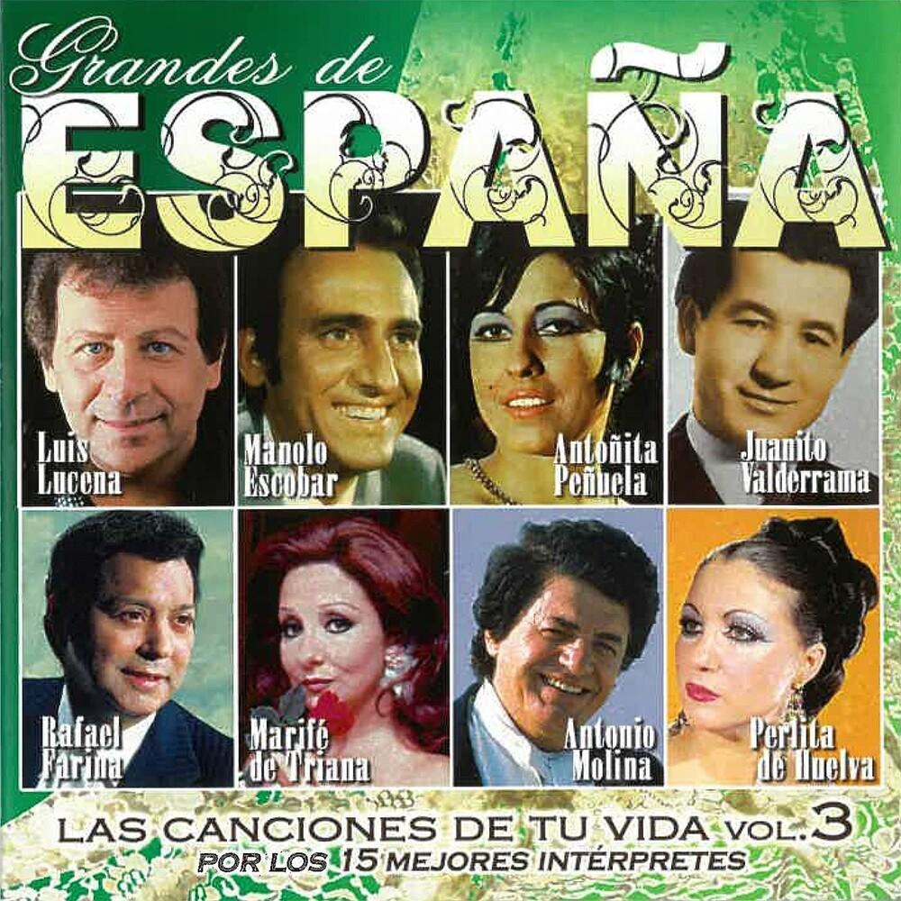 Grandes De Espana: Las Canciones De Tu Vida Vol 3 - Grandes De Espana: Las Canciones De Tu Vida Vol 3