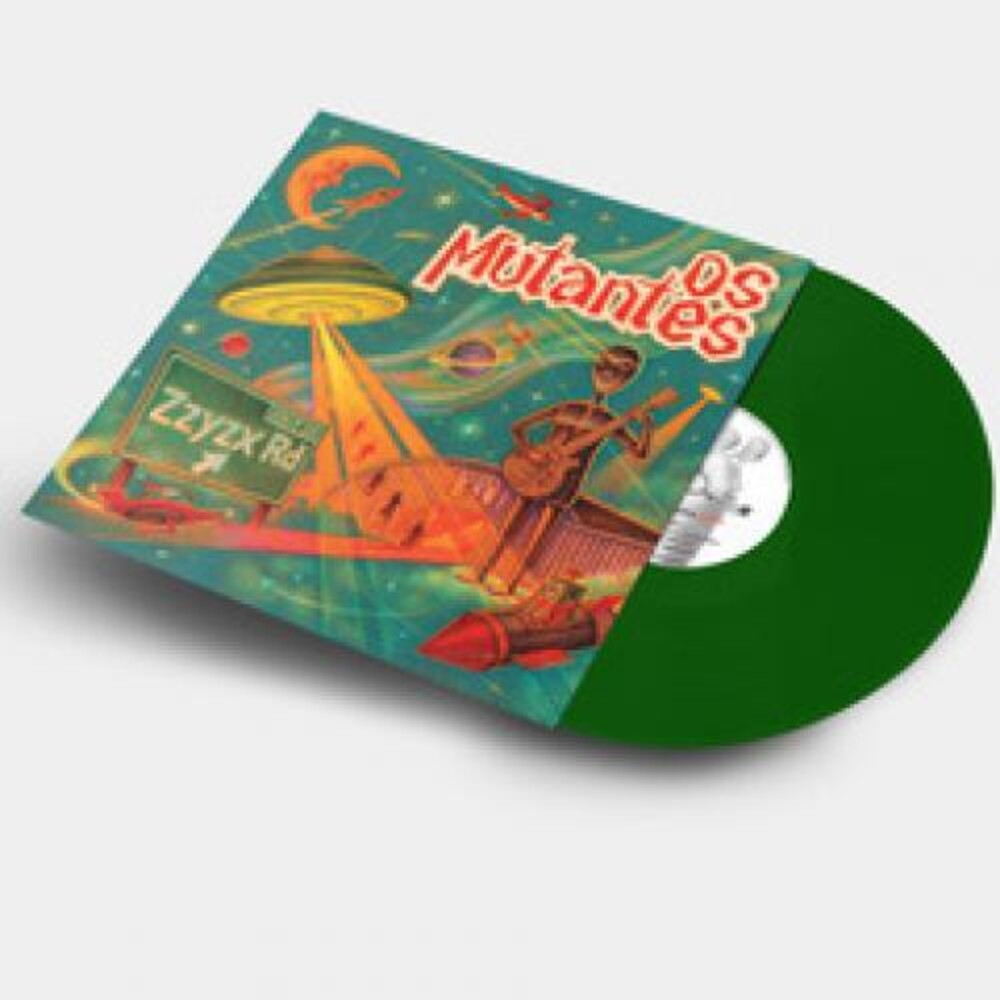 Os Mutantes - Zzyzx (Olive Green Vinyl) [Colored Vinyl] (Grn)