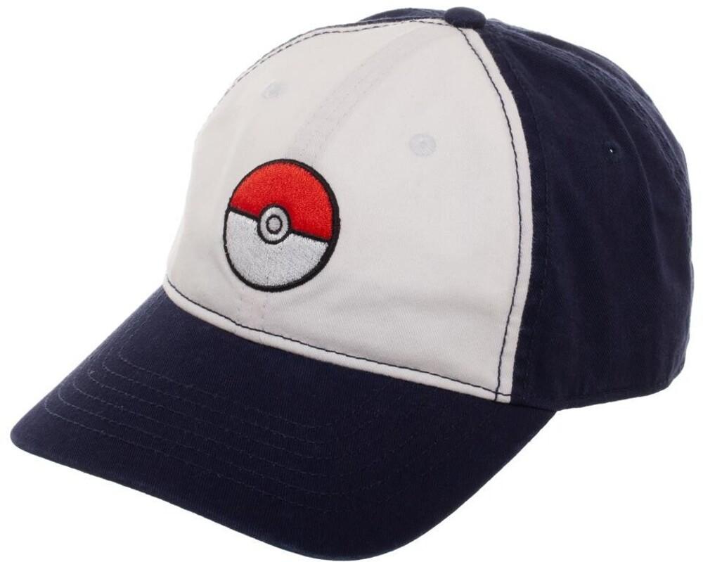 Nintendo Pokemon Pokeball Adjustable Baseball Cap - Nintendo Pokemon Pokeball Adjustable Baseball Cap