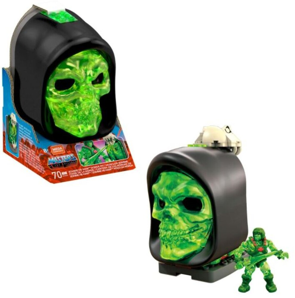 Mega Brands Masters of the Universe - Motu He Man Slime Pit (Fig) (Brik)