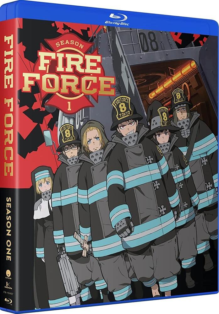 Fire Force: Season 1 - Fire Force: Season 1 (4pc) / (Box Digc Sub)