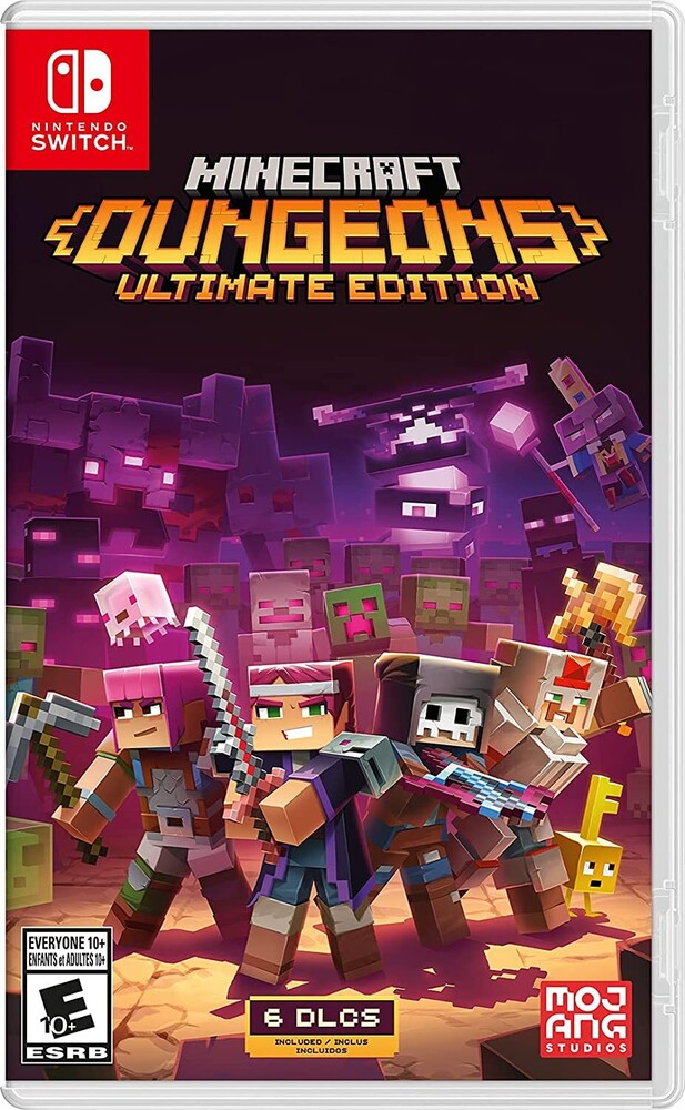 Swi Minecraft Dungeons Ultimate Ed - Minecraft Dungeons Ultimate Edition for Nintendo Switch