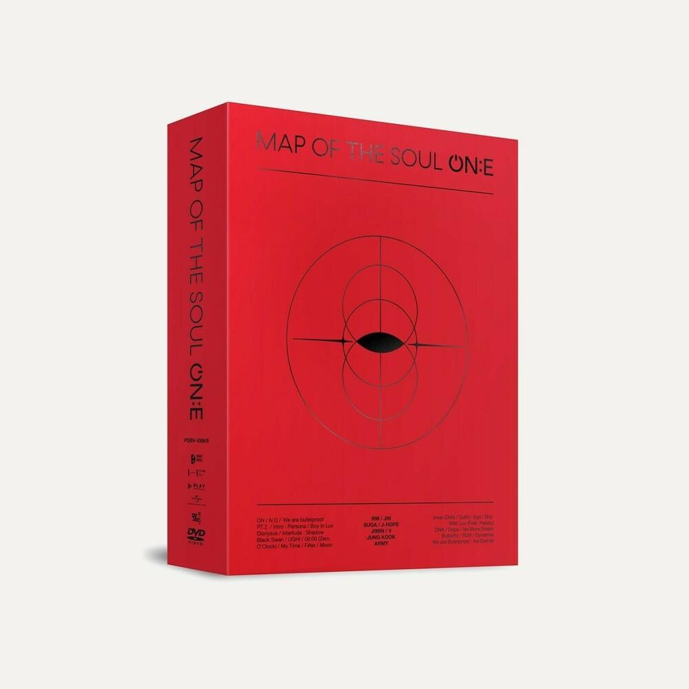 BTS - Map of the Soul On:E (3xDVD Set) (NTSC/Reg.1+3) (incl. 148pg Photobook, 7pc Hologram Photo Ticket Set + Photocard)